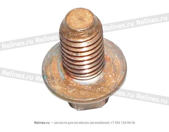 Bolt,heat insulator - 06506461aa