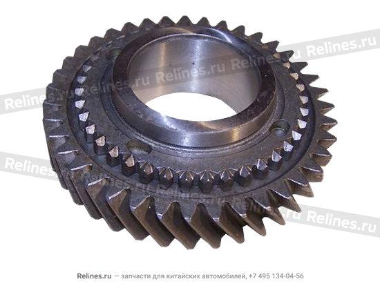 Gear assy - dooriven (2ND) - QR520-1701430
