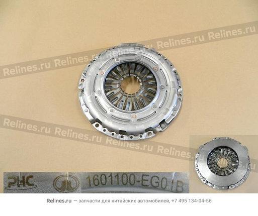 Диск сцепления нажимной Hover H6 (бензин) - 1601100-EG01B