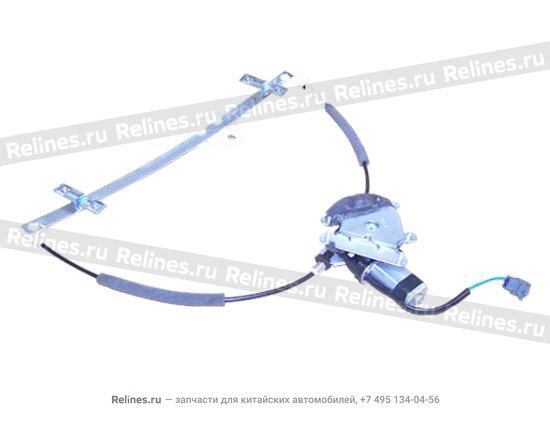 Стеклоподъемник двери передней правой электрический - A11-6104510BA