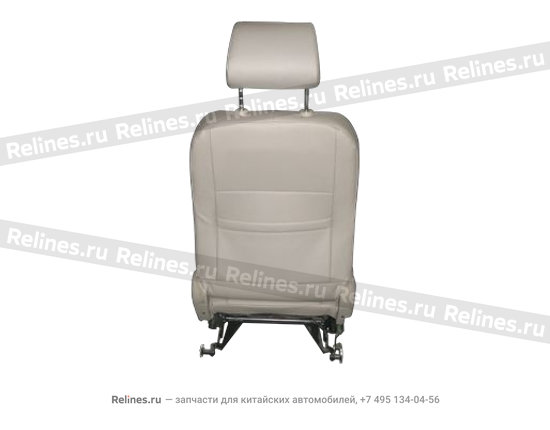 Seat assy-fr LH - A15-6800010CR