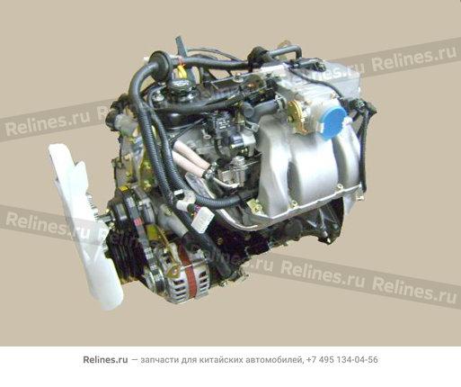 Двигатель в сборе бензин 491Q 2WD - 1000100-E01-B7