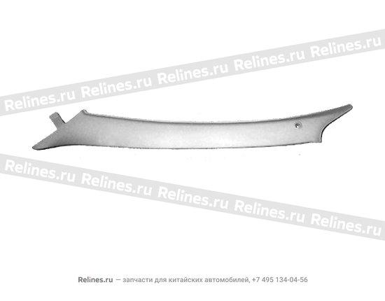 Trim board - a pillar LH - A11-5402010
