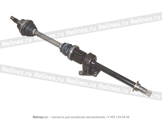 Drive shaft assy - RH with md support