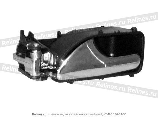 Ручка двери внутренняя передняя/задняя правая серая - A11-6105450AL