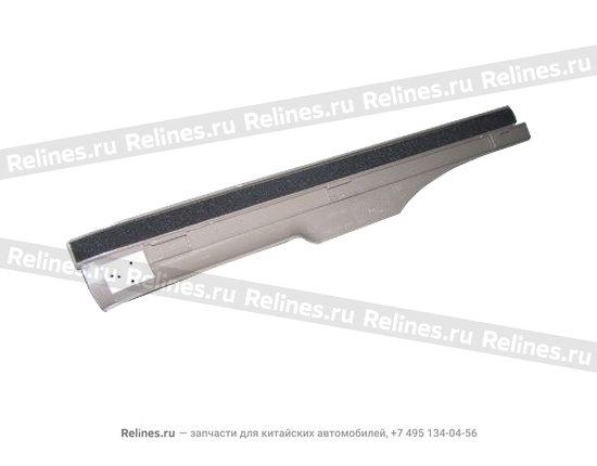 Накладка порога задняя левая темно-серая - A15-5101050BD