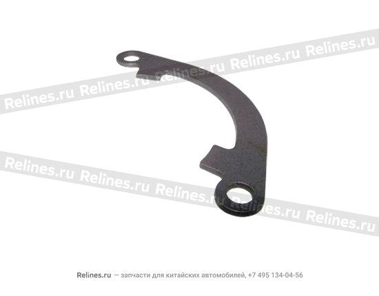 Block - output shaft front bearing pressing - QR520-1701104
