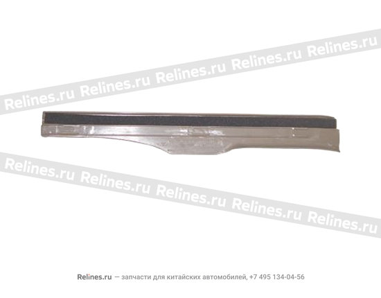 Накладка порога задняя правая бежевая - A15-5101060BC