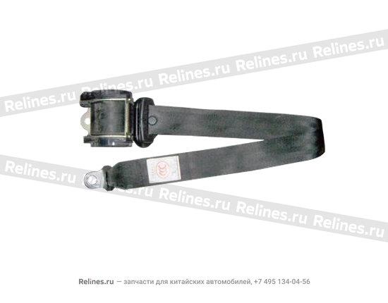 Фиксатор ремня безопасности передний правый - A11-8212050AB