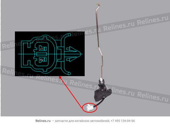 Активатор замка двери задней левой  - A11-5606310AB
