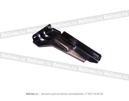 Кронштейн переднего бампера правый металлический - A15-2803590