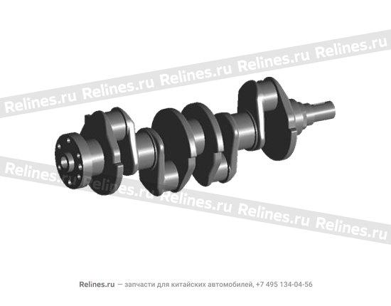 Коленвал (коленчатый вал) (480ED, ЕВРО-2) - 480-1005011