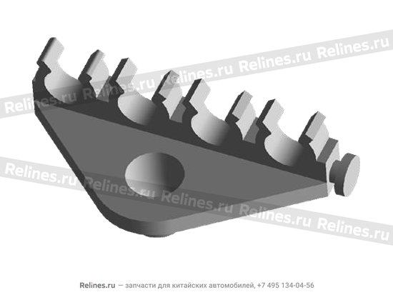 Скоба троса металлическая - A11-3707173