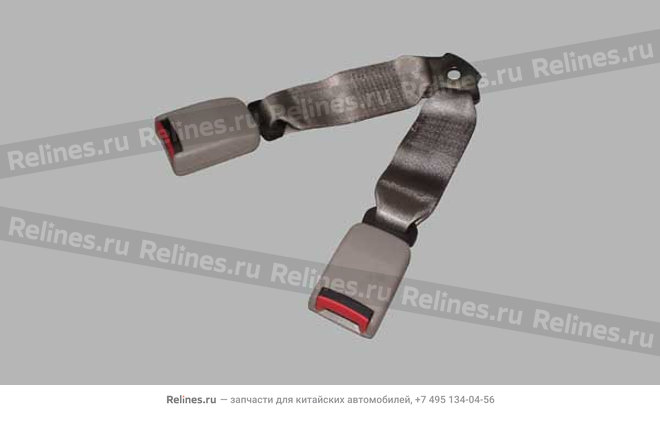 Double head buckle ring assy