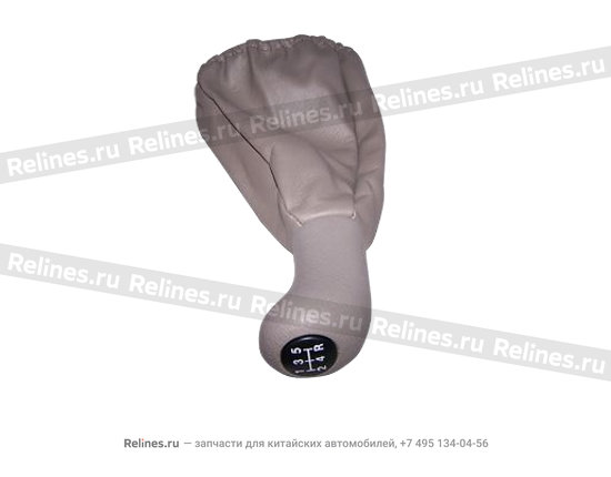 Gear shift cover assy