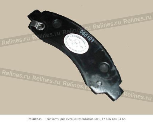 Колодки тормозные передние  - 3501175-K00-J