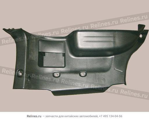 Обивка грузового отсека правая (black) - 5402660-K00-0804