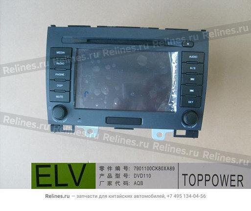 Магнитола DVD (новый салон) - 7901100CK80XA89