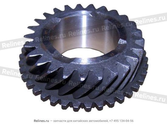 Gear assy - 3RD - QR520-1701330