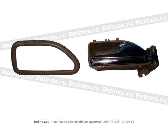 Ручка двери внутренняя правая темно-коричневая - A15-6105450BE