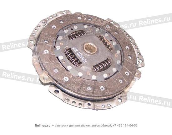 Brake disk - A15-04668608AD