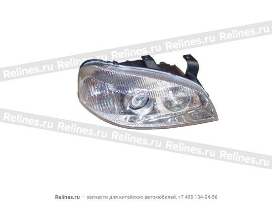 Lamp assy - head RH