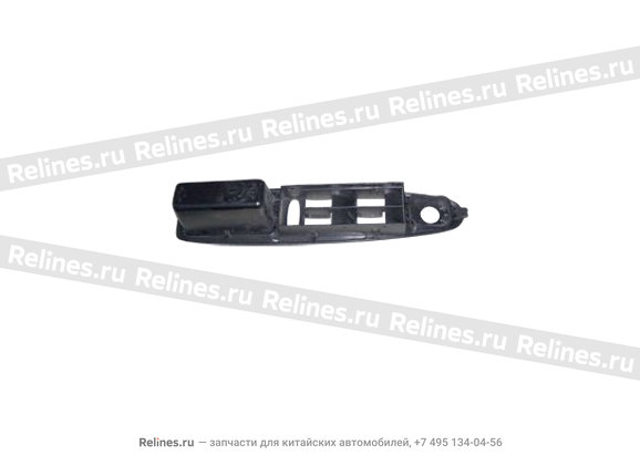 Cover assy - FR dr arm rest LH - A15-6102570CD