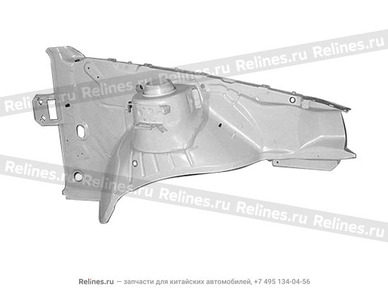 Брызговик лонжерона передний левый - A15-8403300-DY