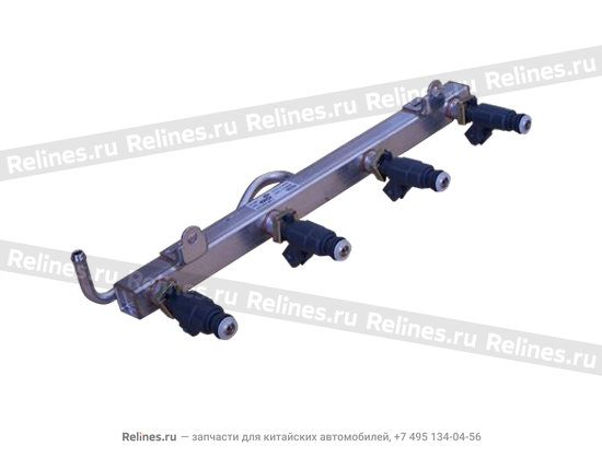 Fuel rail with injector assy - 480EE-1112001