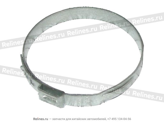 Clip-sleeve to steering gear