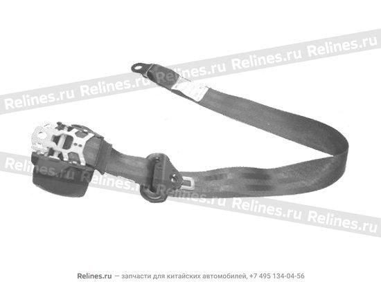 Belt'a' assy - front seat RH - A15-8212050