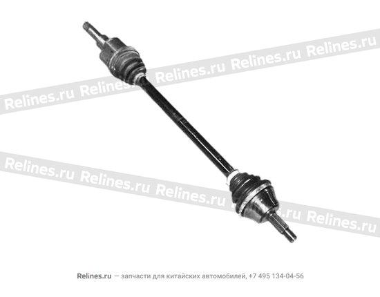 Привод колеса правый - A11-2203020CA