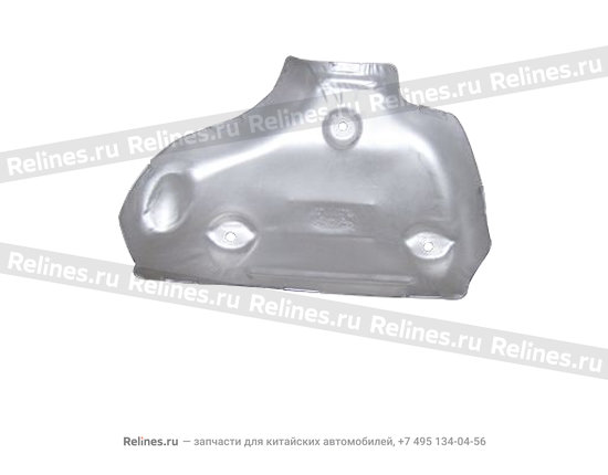 Защита выпускного коллектора - 480EF-1008140BA