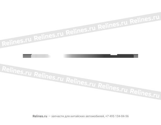 Полукольцо коленвала (1 шт) - 480-1005015