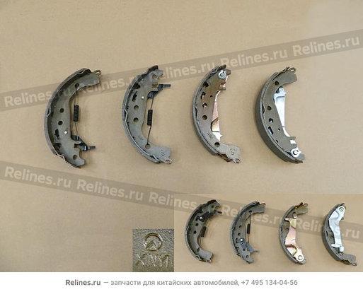 Колодка тормозная задняя (комплект) - 9101082