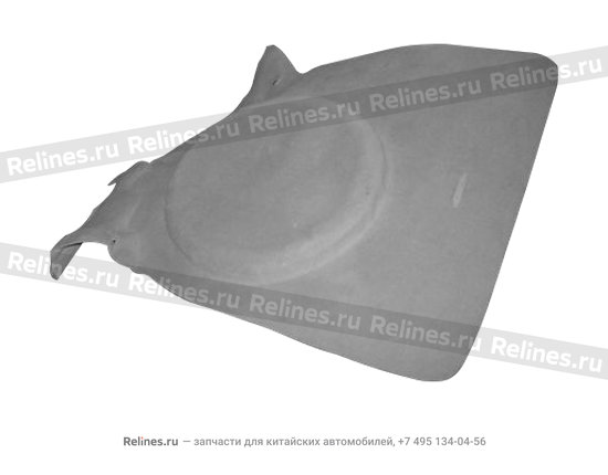 Carpet assy - luggage compartment - A11-8210020