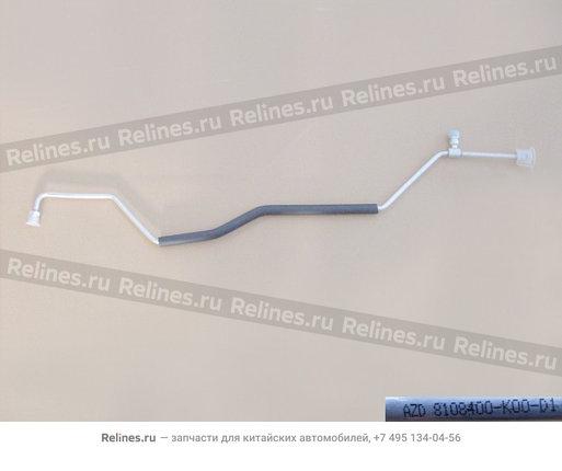 Трубка кондиционера высокого давления №1 - 8108400-K00-D1