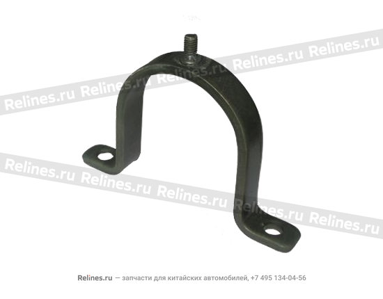 Clamp-steering gear&sub-frame