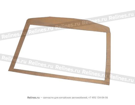Roof sound insulating cardboard - A12-5710111AB