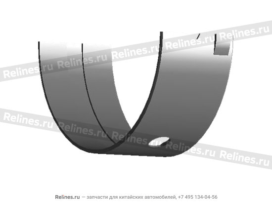 Вкладыш коренной верхний - 5 шт. (0.25) - 480-BJ1005013