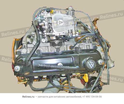 Engine assy(carburetor w/o silicon clutc - 1000010C7