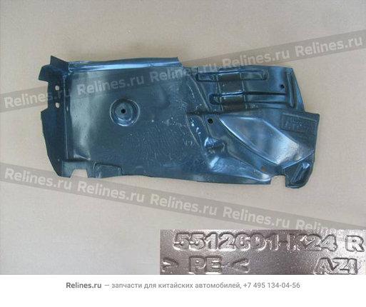 Локер заднего колеса правый Hover H3 New - 5512601-K46