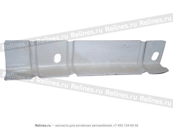 Left safety belt stiffening pl - A12-5400337-DY
