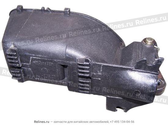 Ручка двери внутренняя передняя/задняя левая черная - A11-6105120