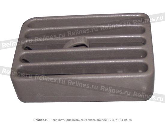 Дефлектор вентиляции (серый)