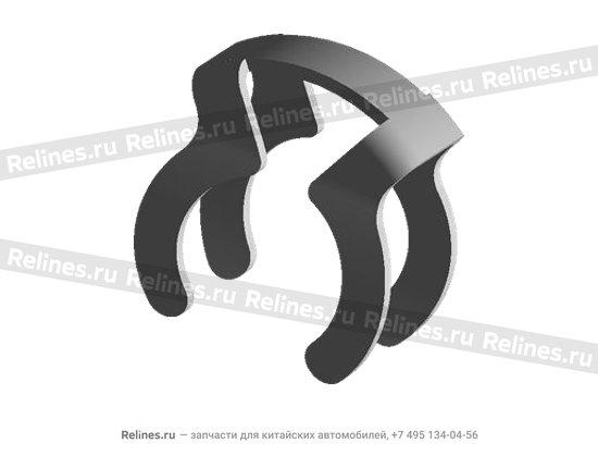 Скоба задней крышки коробки передач (КПП) металл - 015141710aa