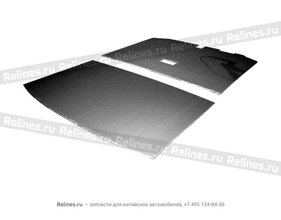 Roof sound insulating cardboard - A11-5710010