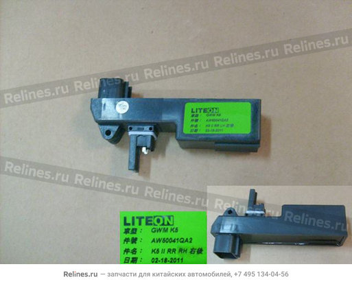 Модуль стеклоподъемника задней правой двери - 6204201XK80XA
