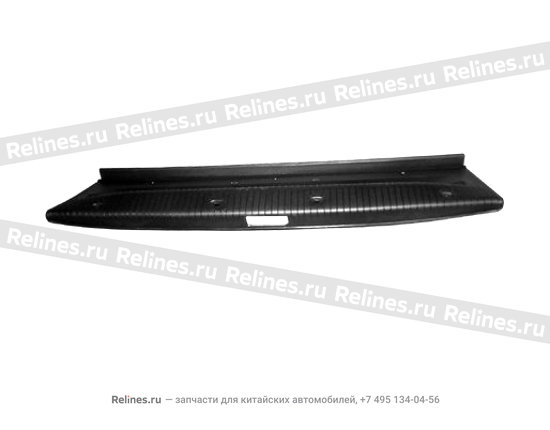 Накладка панели багажника задней серая - A11-5608051AL