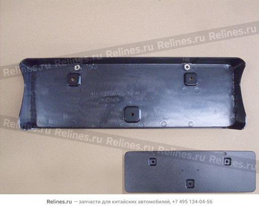 Рамка крепления переднего номерного знака - 2803307-K24